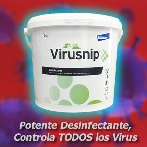 Virusnip, Desinfectante Especializado, Controla TODOS los Virus
